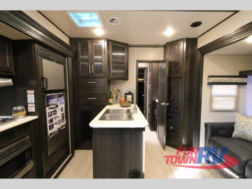 XLR Hyper Lite Travel Trailer Toy Hauler Interior