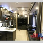 XLR Thunderbolt Fifth Wheel Toy Hauler Interior