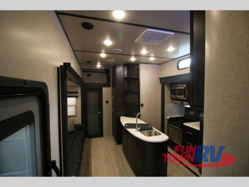 XLR Nitro Toy Hauler Fifth Wheels Interior