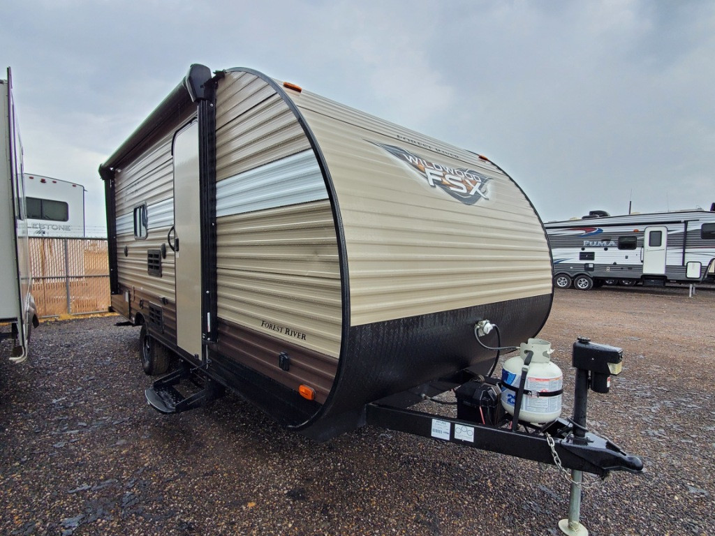 Used 2018 Forest River RV Wildwood FSX 197BH