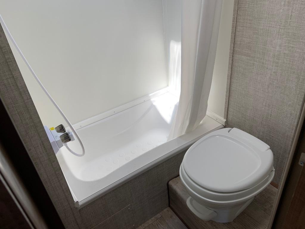 bathroom wildwood rv