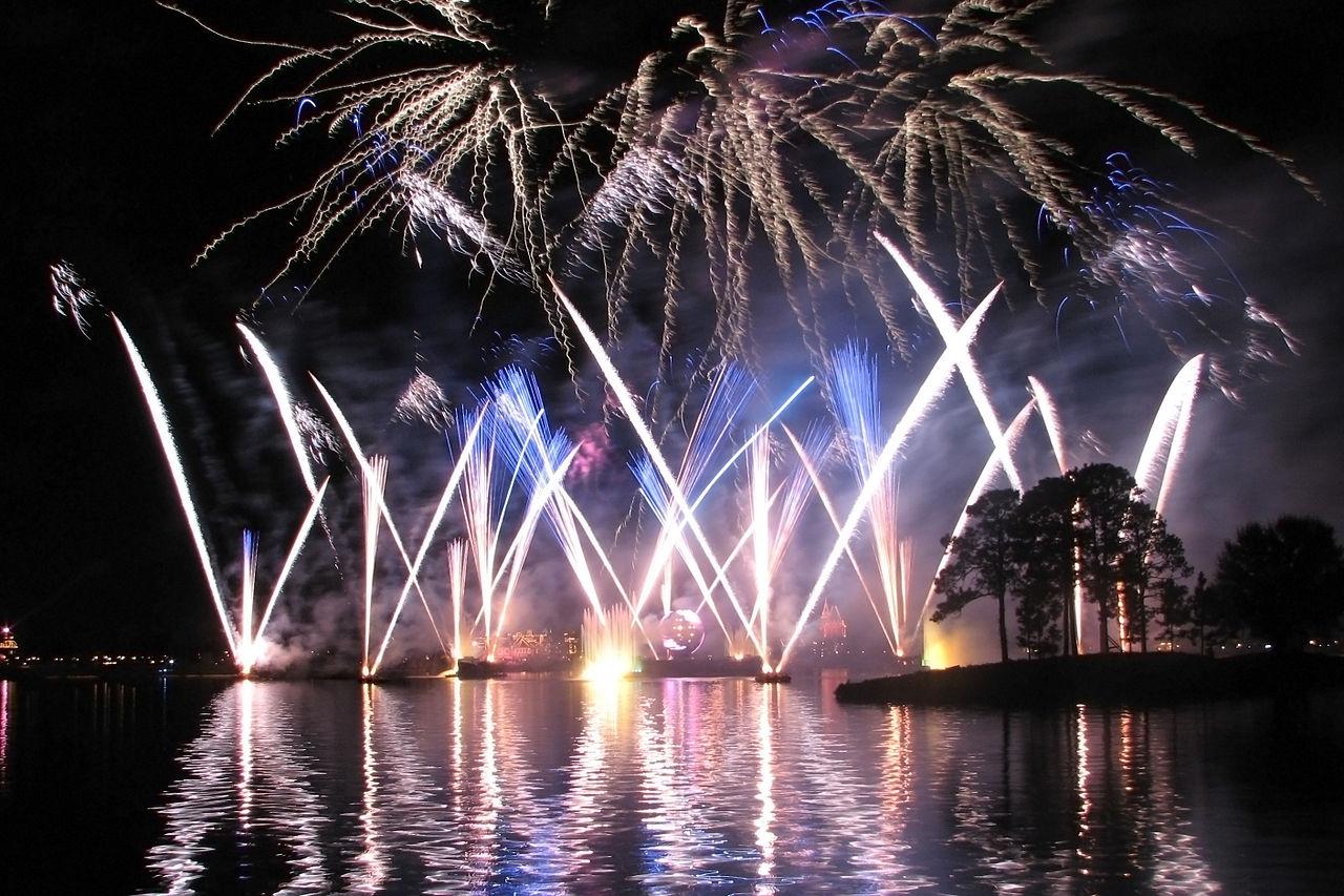 fireworks epcot center
