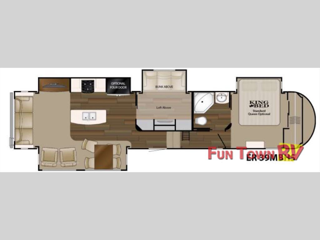 2 Bedroom Fifth Wheel Home Design Ideas