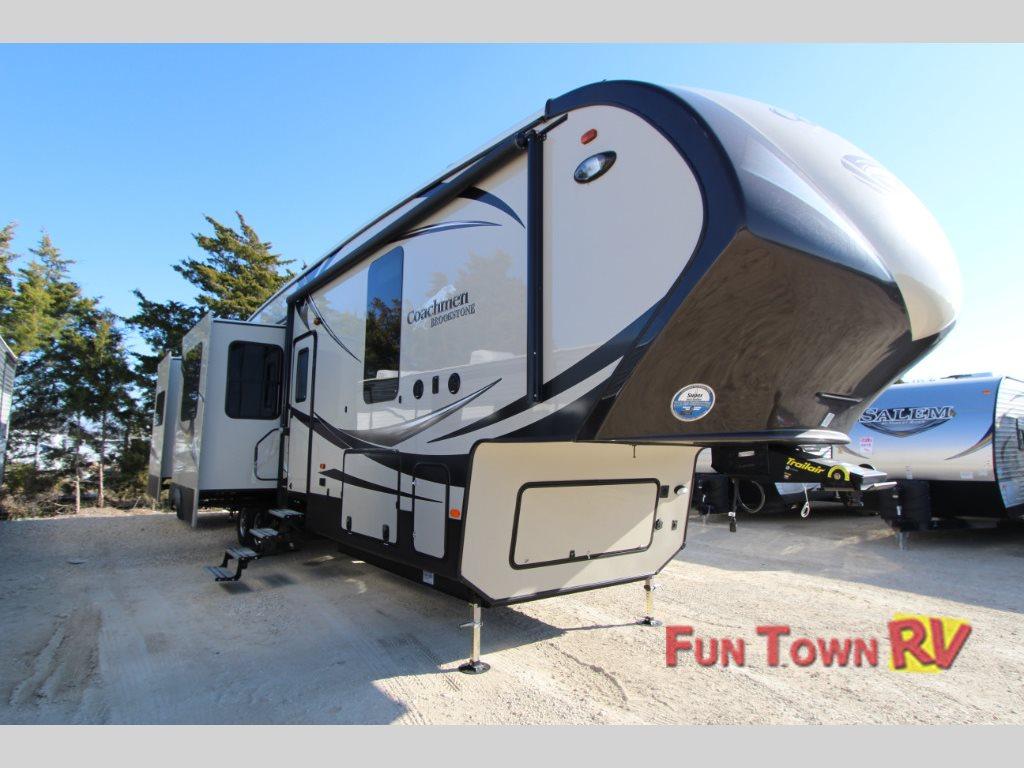 Luxury rv exterior - Coachmen Brookstone 378re Fifth Wheel Exterior