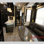 Heartland Edge 357 Fifth Wheel Toy Hauler Interior