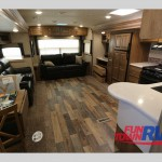 Forest River Rockwood Ultra-Lite Travel Trailer Interior