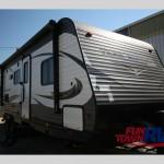 Heartland Trail Runner 27FQBS Travel Trailer Exterior