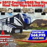 Cruiser Boss Toy Hauler