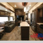 Heartland Elkridge Fifth Wheel Interior