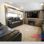 Heartland Elkridge Fifth Wheel Living Area