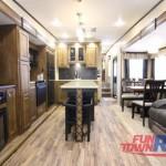 Coachmen Chaparral Fifth Wheel Kitchen Area