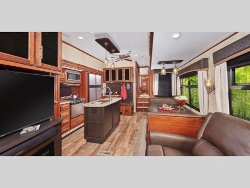 Jayco Eagle Fifth Wheel Interior