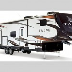 talon fifth wheel toy hauler