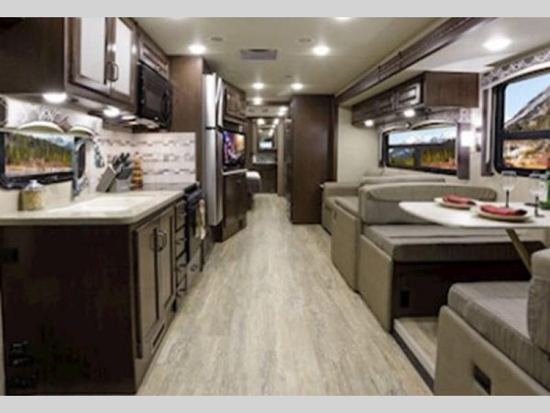 hurricane motorhome living room