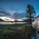 camper on the lake | rv financing
