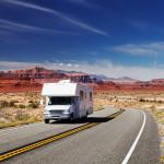 Traveling by motorhome, American Southwest, Utah