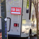 the image of  sign for sale motorhome