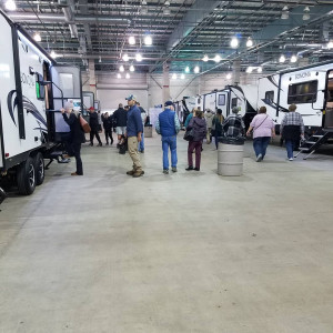Indoor RV Show at Cal Expo