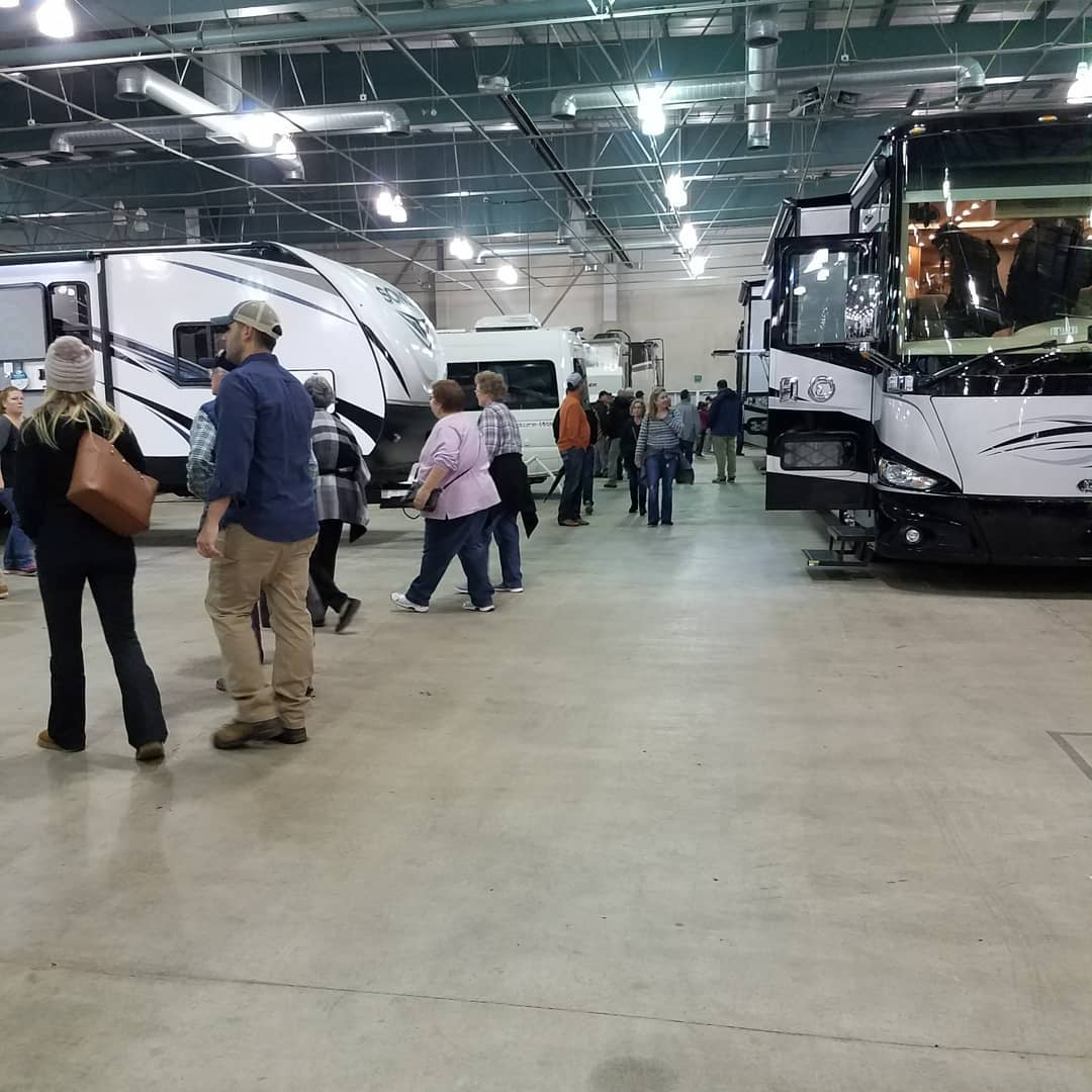 Indoor RV Show at Cal Expo - Happy Daze RVs Blog