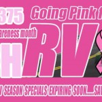 Hitch RV Breast Cancer Awareness Sale
