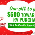 $500 Gift Card for any RV Purchase