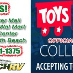Hitch RV Toys For Tots Banner