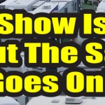 Show is Over Sale Hitch RV Banner