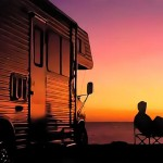 Motorhome Sunset