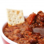 delicious chili for camping