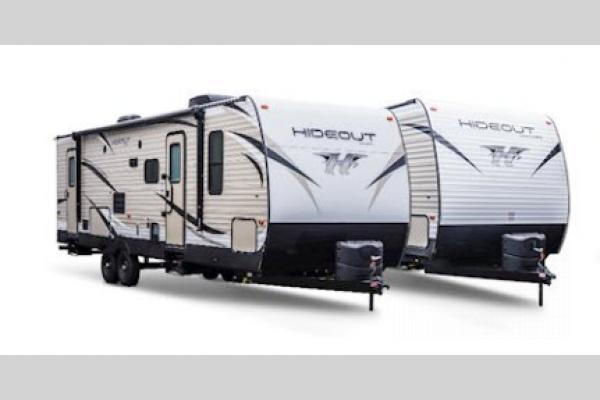 Keystone RV Hideout Travel Trailer Exterior