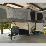 Hitch RV Used Flagstaff RV Folding Pop Up Camper Exterior