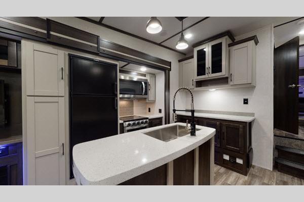 Cruiser Aire Fifth Wheel Interior Kitchen