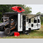 No Boundaries Toy Hauler Travel Trailer with Garage