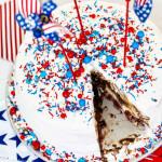 patriotic cake - delicious table