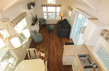 Cottage Rentals in Cape May Holly Shores Interior