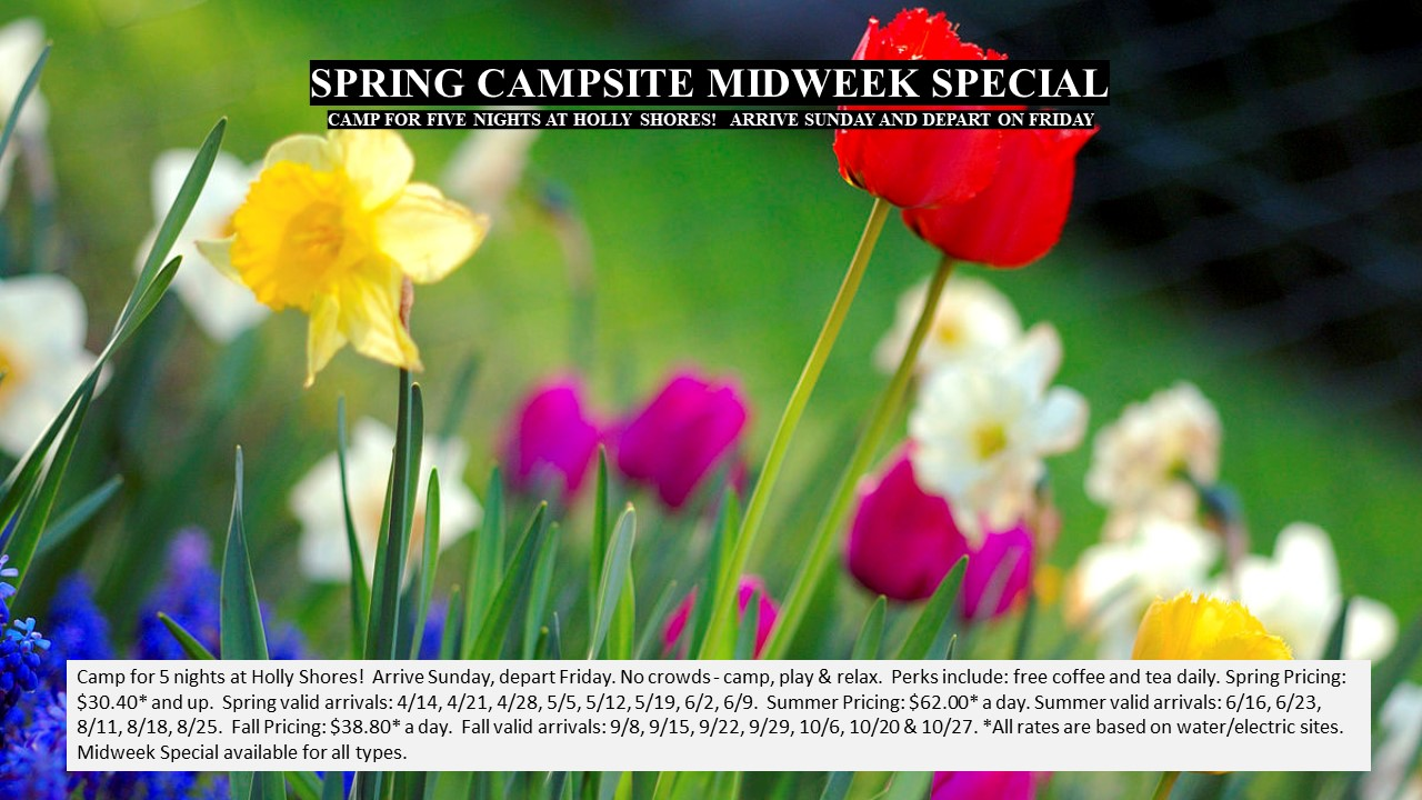 Camping Specials Spring Events In Cape May, NJ