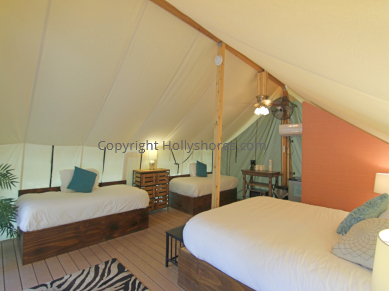 Glamping Tents Holly Shore Cape May New Jersey Beds