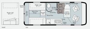 Winnebago 59PX Floorplan