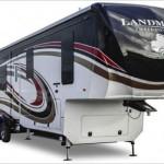 The Heartland Landmark 365 luxury fifth wheel.