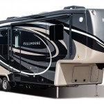 Check out the DRV FullHouse fifth wheel toy hauler.