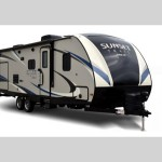 Pull this Sunset Trail Super Lite travel trailer with the vehicle you already own!