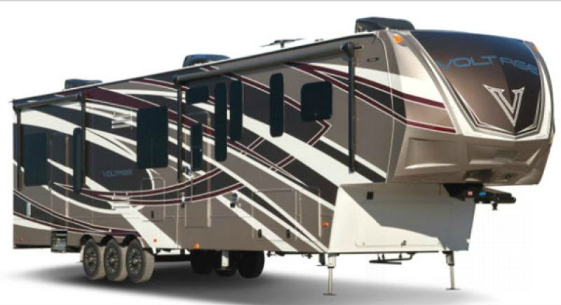 voltage epic exterior fifth wheel