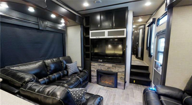 living area of voltage epic rv