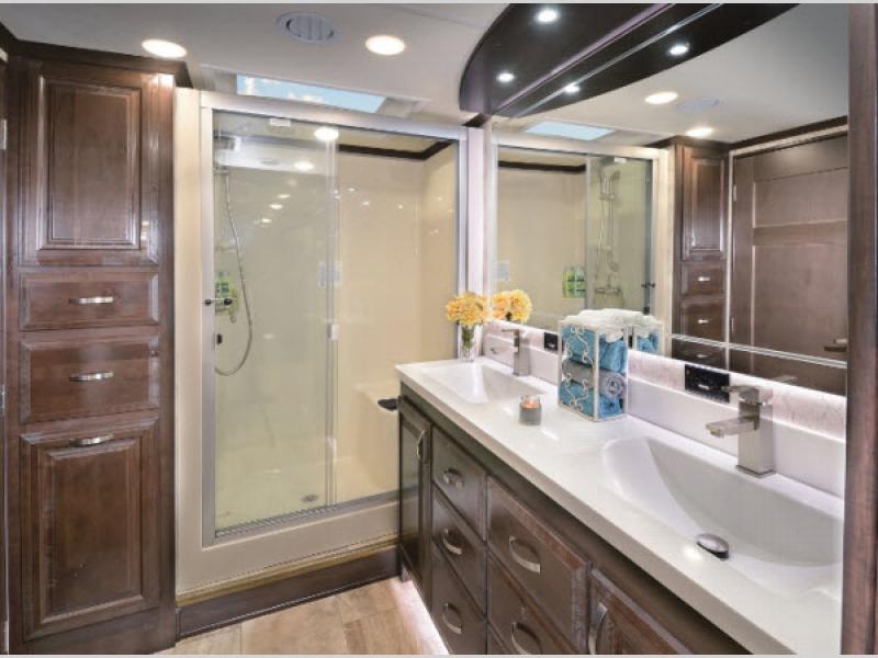 riverstone bathroom fifth wheel