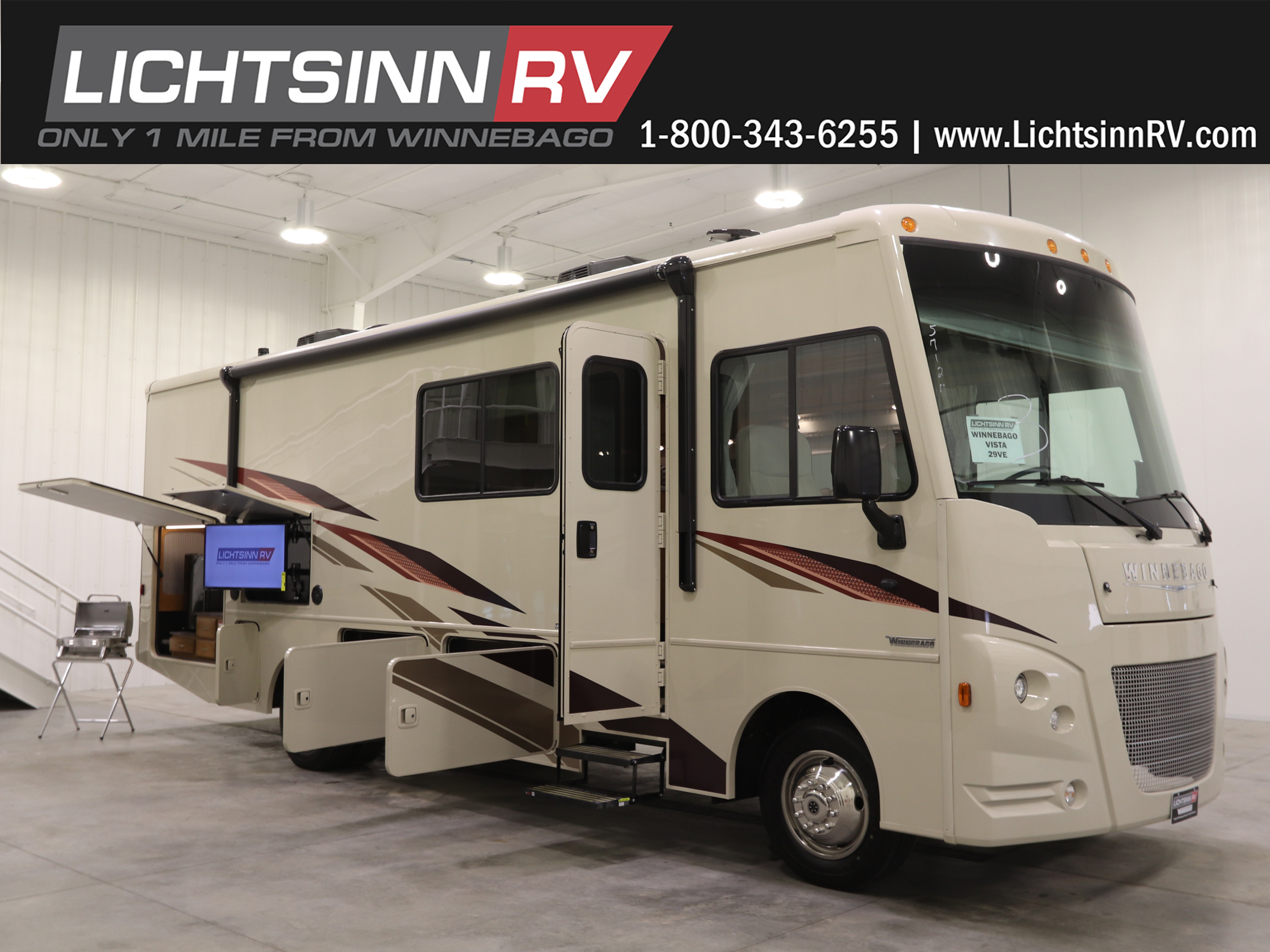 New Model Year Changes In The Vista And Sunstar 29ve Lichtsinn Rv Blog Winnebago Ac Wiring Looking For A Big Coach With Value Built To Winnebagos Uncompromising Standards Look No Further Than