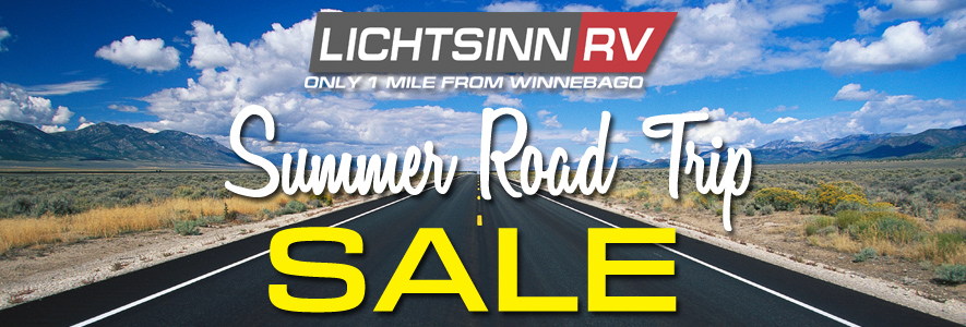 Lichtsinn RV Summer Road Trip Sale