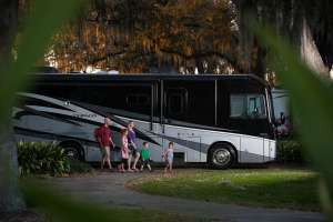 Finding an RV Park