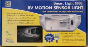 Star Light Smart Light 1000 RV Motion Sensor Light