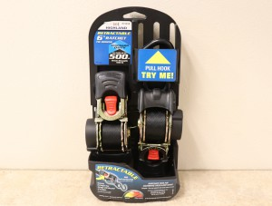 Highland Retractable 6 foot Ratchet Straps