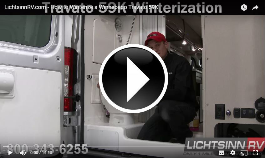 Winterize Travato